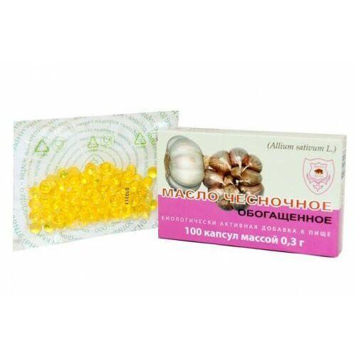 Olej z czosnku w kapsułkach na odporność 3mg 100 kapsułek, KF161
