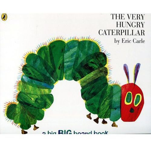 The Very Hungry Caterpillar (24 str.)