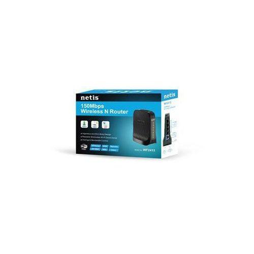 Router Netis DSL WIFI G/N150 + LAN x4, wewnętrzna antena 5 dBi WF2412/ DARMOWY TRANSPORT DLA ZAMÓWIEŃ OD 499 zł - produkt z kategorii- Routery i modemy ADSL