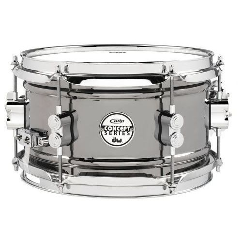 (pd805142) snaredrum black nickel over steel 13 x 6.5″ marki Pdp