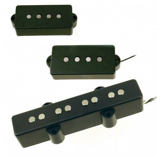 Nordstrand Pickup Set NP4V + NJ4SE Bridge Position, 4 Strings zestaw przetworników do gitary