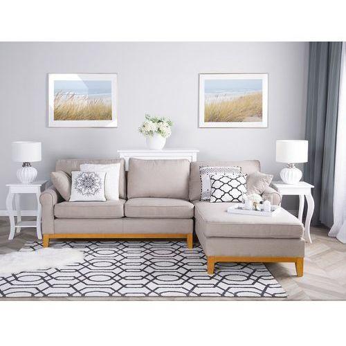 Narożnik jasnobrązowy - kanapa - sofa - narożna - wypoczynek - NEXO (7105272765572)