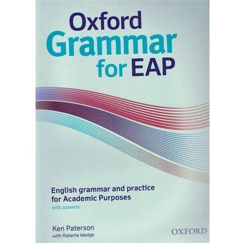 Oxford Grammar for EAP B2: English Grammar & Practice for Academic Purposes, Oxford University Press
