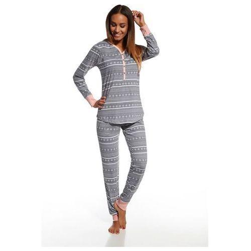 piżama damska 643/111 stars 5 grafitowy marki Cornette