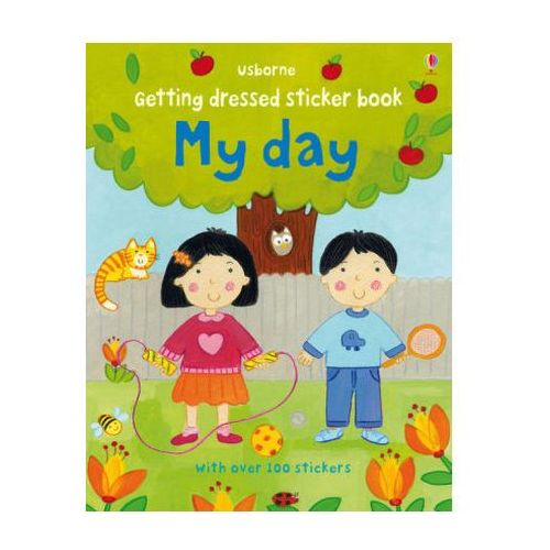Getting Dressed Sticker Book My Day, Brooks, Felicity