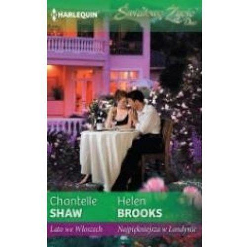 Lato we Włoszech, Najpiękniejsza w Londynie - Chantelle Shaw, Helen Brooks, Harlequin