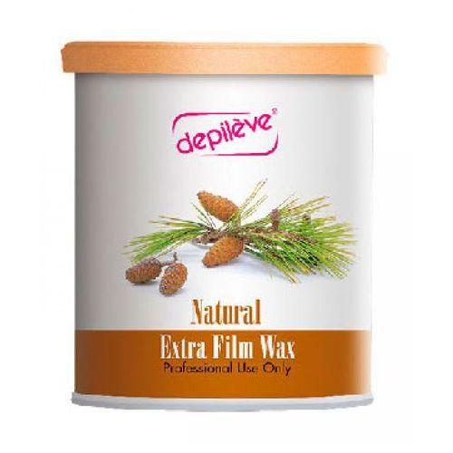 Depileve natural extra film wax wosk do depilacji bezpaskowej - naturalny (800 g.)