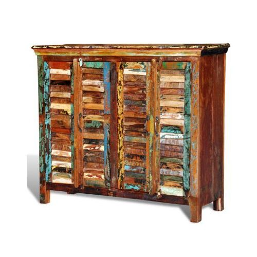 Drewniana szafka 2 x podwójne drzwi, vidaXL z VidaXL
