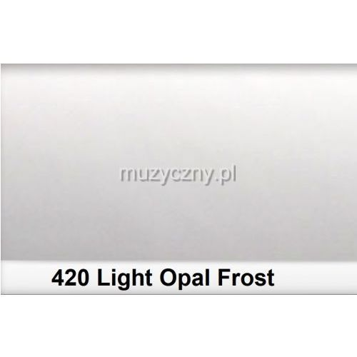420 light opal frost filtr - folia - arkusz 50 x 60 cm marki Lee