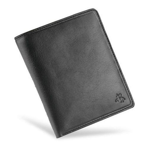 f3006d206f63c Viscont bezpieczny portfel męski skórzany czarny rfid tsc49 - czarny marki  Visconti 139,00 zł Bezpieczny portfel męski skórzany broniący karty RFID  marki ...