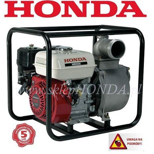 WB 30 Motopompa HONDA (6 mm, 1100 l/min) + OLEJ + WĄŻ + NASADA + DOSTAWA GRATIS