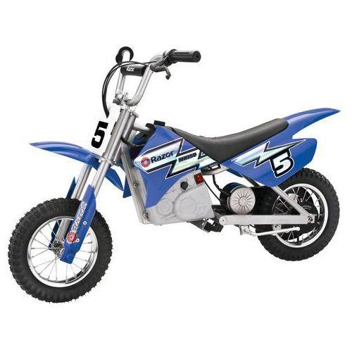 Razor, MX 350, Dirt Bike, motor elektryczny, niebieski z kategorii motory