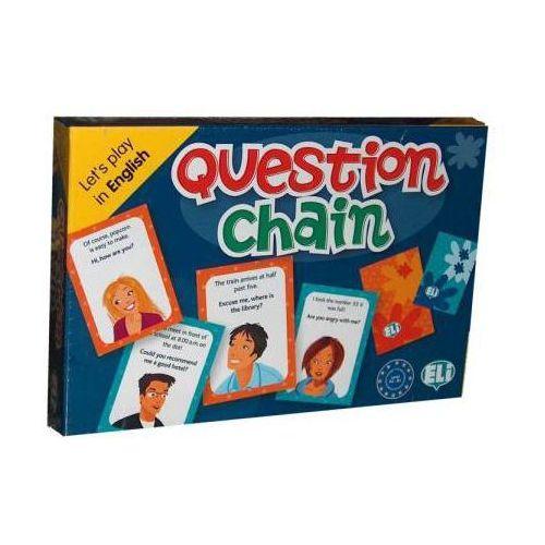 Gra językowa Angielski Question Chain. Opr karton