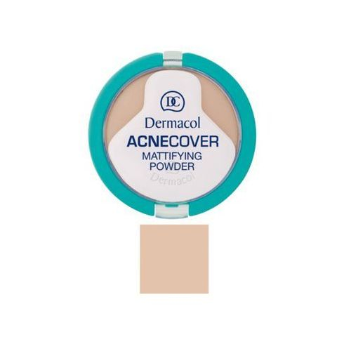 Dermacol acnecover mattifying powder | matujący puder do cery problematycznej sand 03 11g