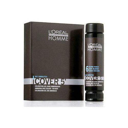 L´Oreal Paris Homme Cover 5 Hair Color 3x50ml M Żel do koloryzacji 6 Dark Blond