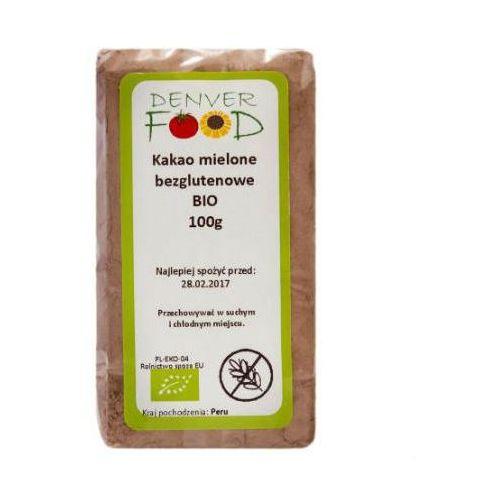 Kakao Criollo Mielone Bezglutenowe BIO 100 g Denver Food, 5906660017059