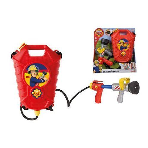 Simba Zbiornik z psikawką strażak sam + prezent do zakupów za min.30 zł. (4006592037475)
