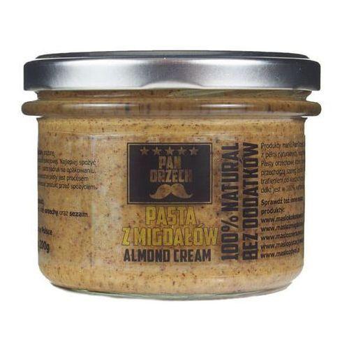 Masło migdałowe Naturalne bez dodatków 200g lub 500g / PAN ORZECH