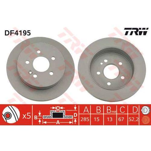 TARCZA HAM TRW DF4195 MERCEDES W163 ML230, ML270 CDI 98-05, ML320 98-02, ML430 98-05 (3322937320936)