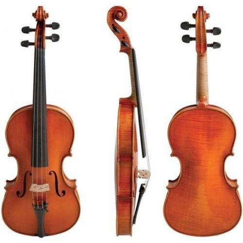 400.691 lutnicze skrzypce koncertowe germania heinrich drechsler w rozmiarze 4/4 marki Gewa