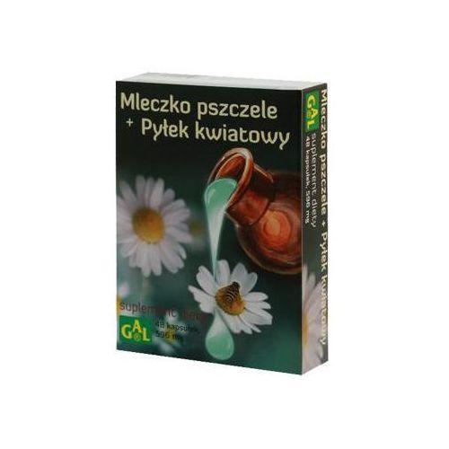 Kapsułki MLECZKO PSZCZELE + PYŁEK KWIATOWY 48kaps