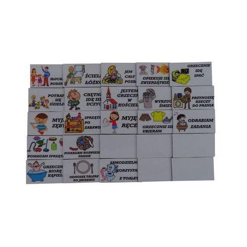 Bystra sowa Obowiązki magnetyczne do tablicy motywacyjnej - komplet