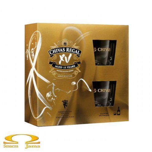 Whisky Chivas Regal XV 15 YO 0,7l + 2 szklanki