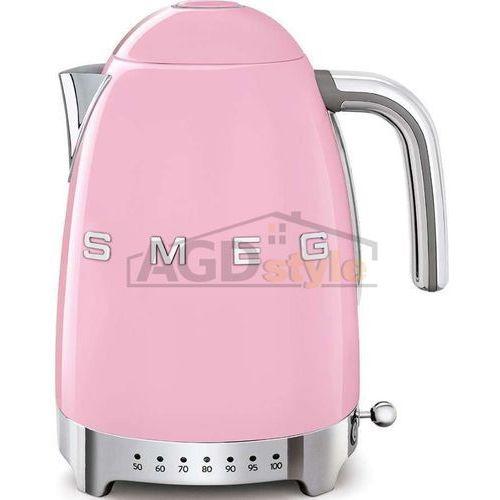 Czajnik elektryczny SMEG KLF04PKEU pastelowy róż z regulacją temperatury
