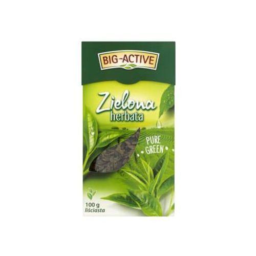 BIG-ACTIVE 100g Herbata zielona liściasta | DARMOWA DOSTAWA OD 150 ZŁ!, BA.GUNPOWD.100G.LIŚ