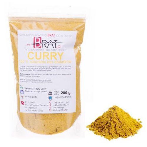 Curry Indyjskie 200g – wysoka jakość – BRAT.PL