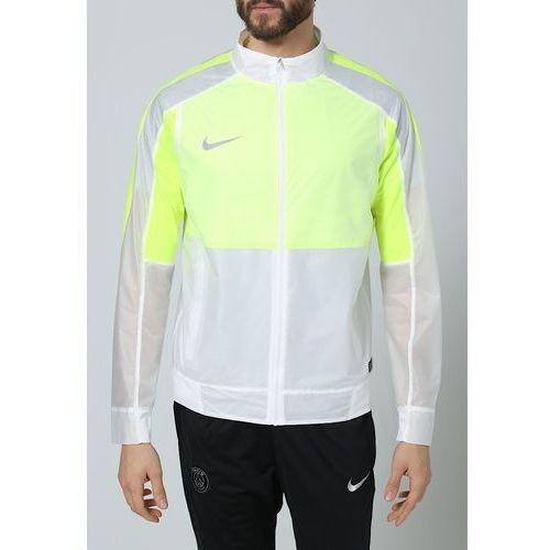 Nike Performance SELECT REVOLUTION LIGHTWEIGHT Kurtka sportowa white/volt/black (kurtka męska) od Zalando.pl