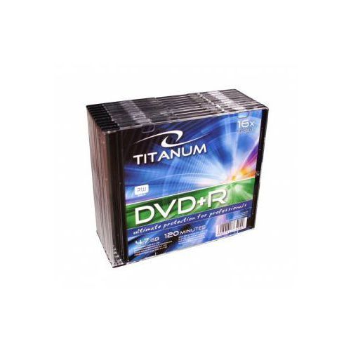 DVD+R TITANUM 4,7 X16 SLIM10. Darmowy odbiór w niemal 100 księgarniach!