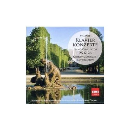 Warner music group Klavierkonzerte nr 25 & 26 - christian zacharias (płyta cd) (5099909464322)
