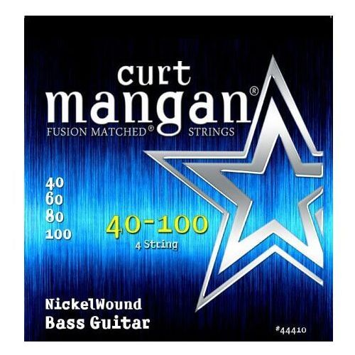 CURT MANGAN 40-100 NICKEL WOUND BASS 44410