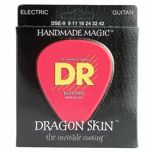 Dr dragon skin - struny do gitary elektrycznej, light,.009-.042