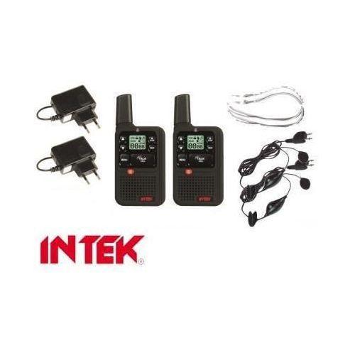 Intek Zestaw 2szt. radiotelefonów/krótkofalówek o zasięgu do 12km!! + akcesoria dodatkowe.