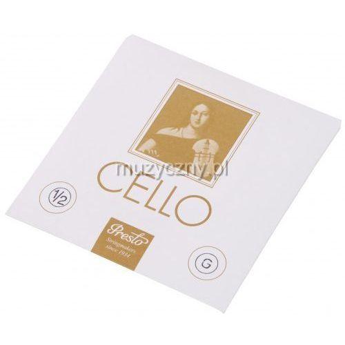 Presto Cello 1/2 G struna wiolonczelowa