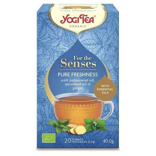 Yogi tea (herbatki) Herebatka dla zmysłów świeżość bio (20 x 2,0 g) 40 g - yogi tea (4012824404571)