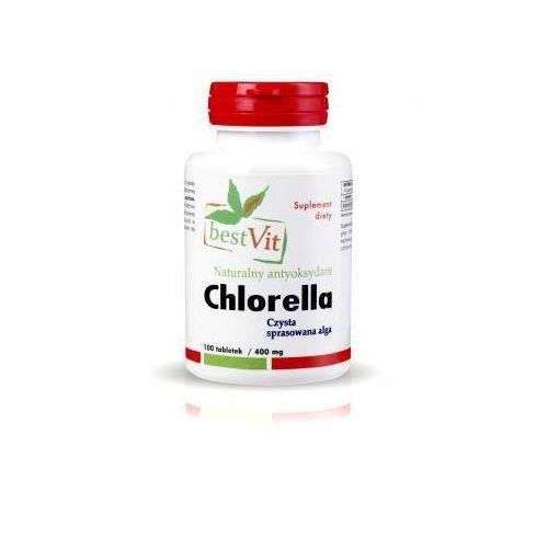 Tabletki Chlorella 400 mg / 100 tabletek Bestvit