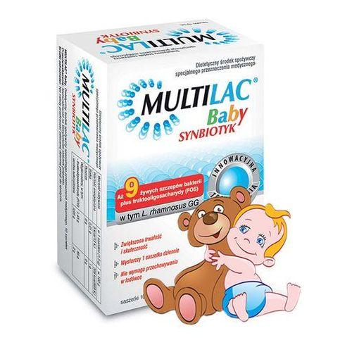 MULTILAC BABY SYNBIOTYK saszet. 10 szt. (artykuł z kategorii Prebiotyki i probiotyki)