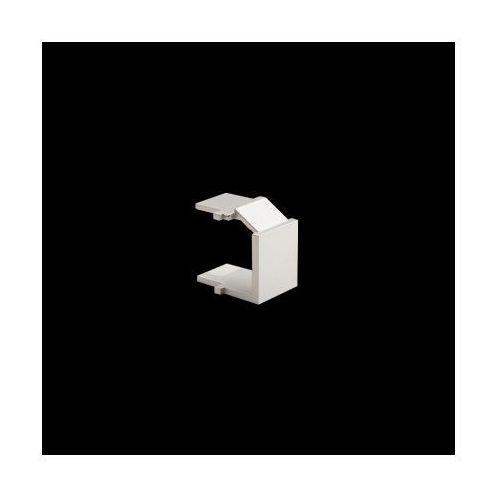 Kontakt-simon Zaślepka otworu wtyku rj45/rj12 do pokrywy gniazda teleinformatycznego; srebrny mat