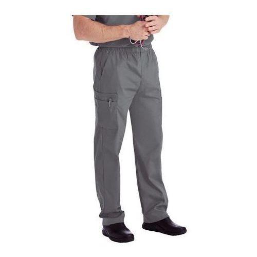 Męskie spodnie medyczne Landau Mens 8555 - STEEL GREY S (odzież medyczna)