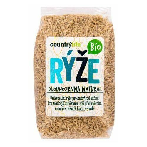 bio ryż brązowy długoziarnisty 500 g marki Country life