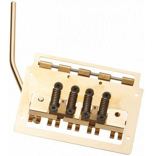 Kahler 2145-xw5 - 5-string bass tremolo, extra wide, rearward saddles ″ złoty mostek do gitary