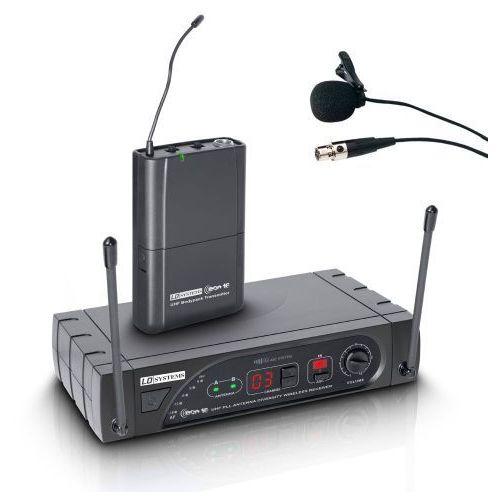 LD Systems ECO 16 BPL B 6 bezprzewodowy system mikrofonowy z nadajnikiem bodypack i mikrofonem przypinanym, 16-kanałowy