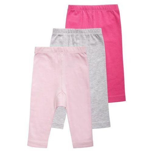 Jacky Baby 3 PACK Legginsy pink/grau/rosa - sprawdź w Zalando.pl