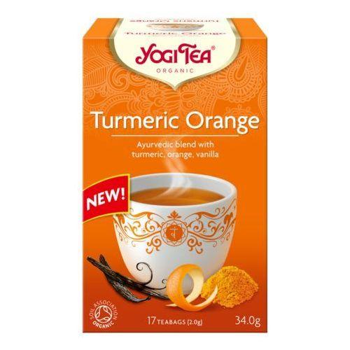 Herbatka kurkuma pomarańcza bio (17 x 2 g) 34 g - yogi tea marki Yogi tea (herbatki)