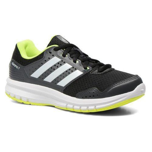 Buty sportowe Adidas Performance Duramo 7 k Dziecięce Czarne (buty sportowe dla dzieci)