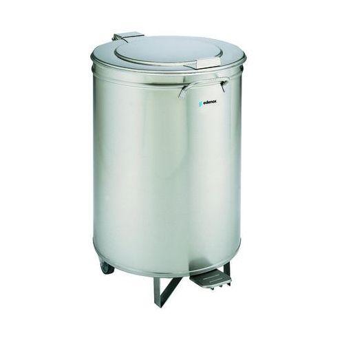 Pojemnik na odpadki z pokrywą otwieraną pedałem 105 l | EDENOX, CUVP-105