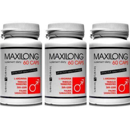Zestaw na powiększenie penisa maxilong 180 kaps. | 100% dyskrecji | bezpieczne zakupy marki Lovely lovers